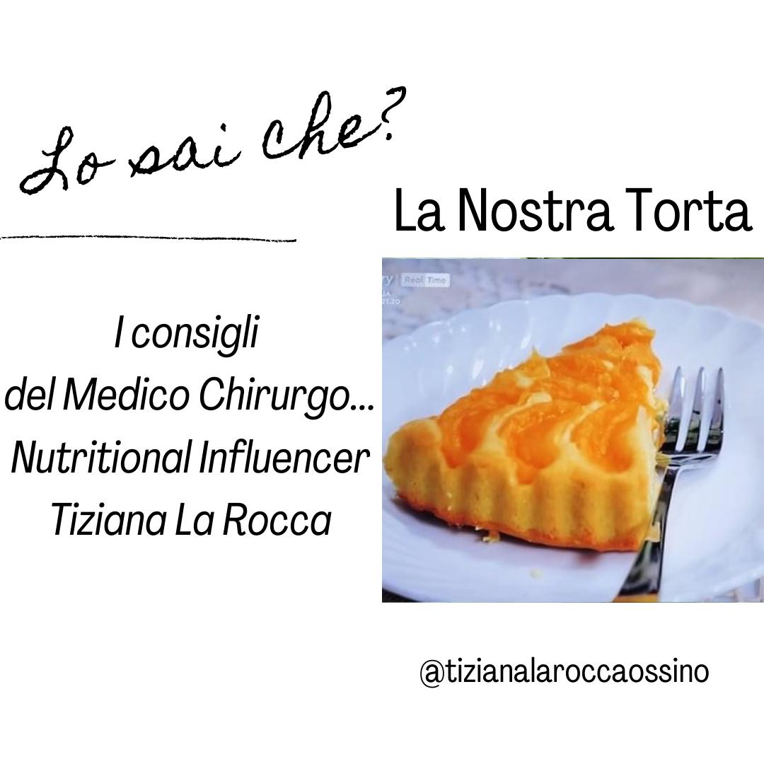 """""""Cortesie per gli ospiti"""" La Nostra Torta Clementina"""